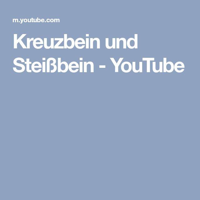 Kreuzbein und Steißbein - YouTube