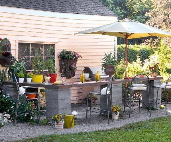 Kitchen Garden London: 48 Best Concrete Block And Cinder Block DIY Furniture