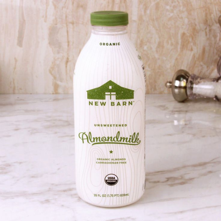 New Barn Organic Almond Milk Unsweetened