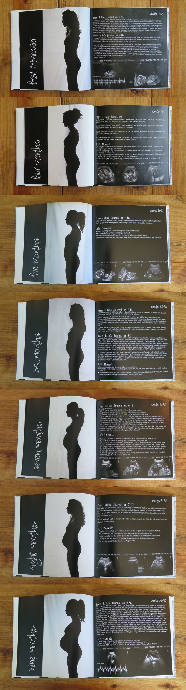Pregnancy Photo Book