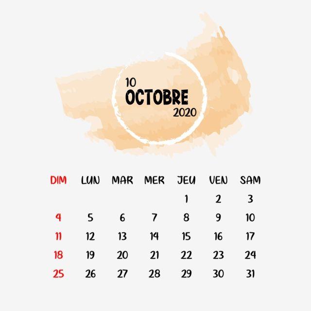 Octobre Fresh Calendar Clipart Vector Png Element, Mars, Calendar