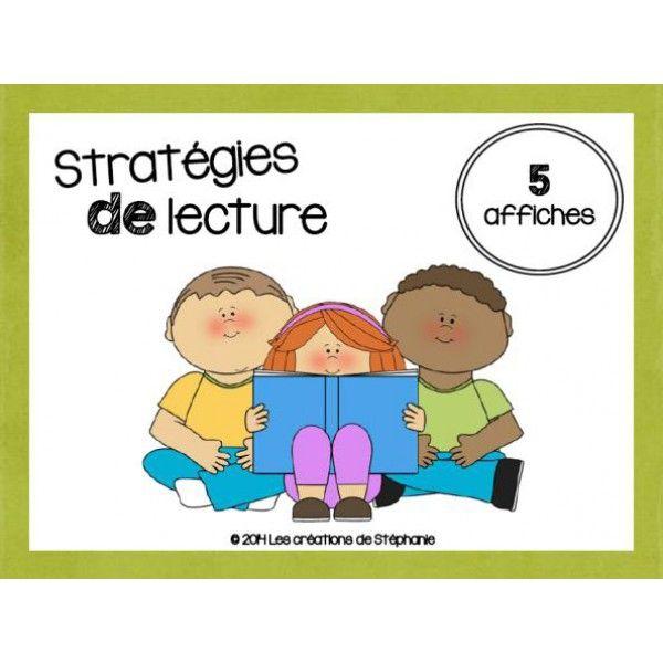 5 stratégies de lecture (1er cycle)