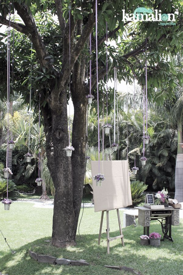 www.kamalion.com.mx - Decoración / Vintage / Rustic / Lilac & Mint / Lila & Menta / Decor / Flores / Flower / Boda / Guestbook.
