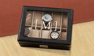 $39.99 for a Personalized Men's Watch Case or Women's Jewelry Box from Monogram Online ($88.99 Value)