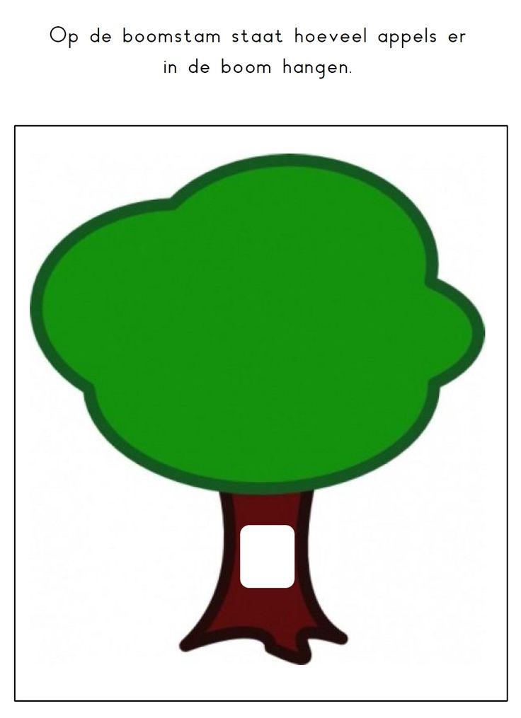 * Kleikaart: Appelboom!