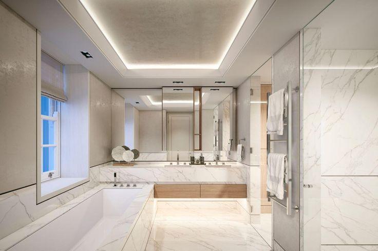 1023 best wc images on pinterest bathroom black for Bathroom design 2019