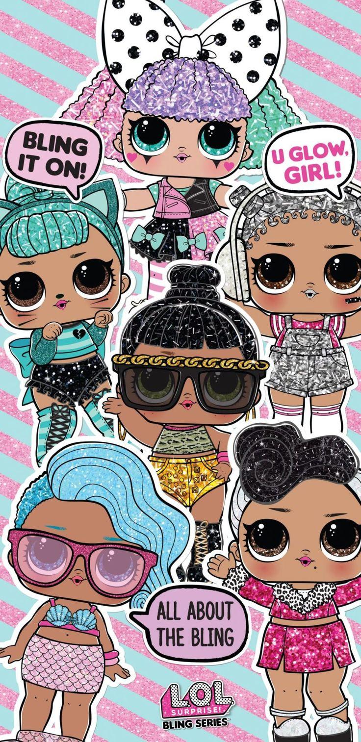 Wallpaper lol Surprise in 20   Lol dolls, Android wallpaper ...