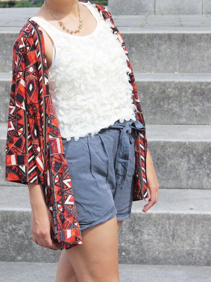 Das macht die perfekten Shorts aus (Outfit mit Tencel Shorts)
