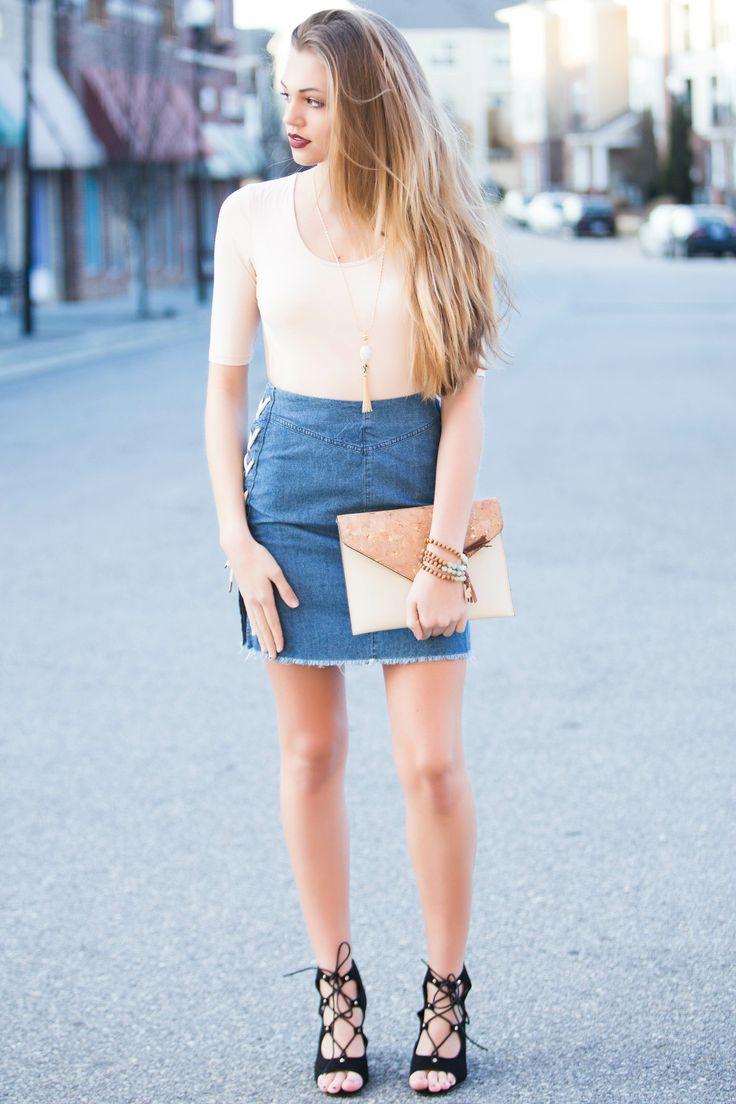 Coachella Denim Skirt