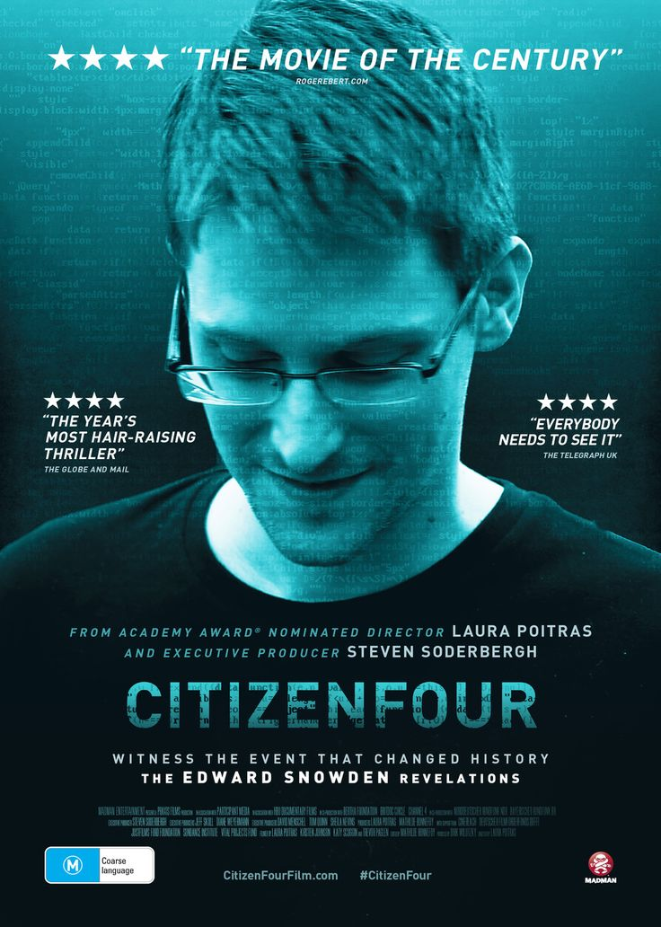 Citizenfour is the powerful Academy Award winning documentary about whistleblower Edward Snowden. Watch it here: http://beamafilm.com/CITIZENFOUR/#.VYpR9vmqqko