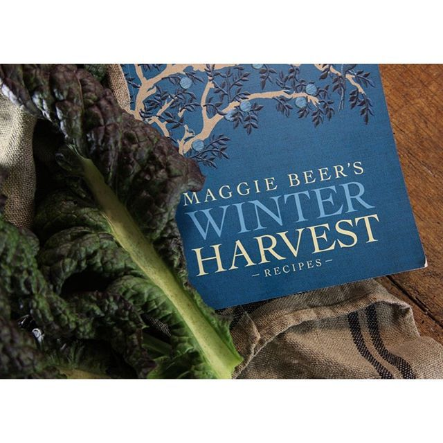 Set to become a new dog-earred, olive-oil stained favourite - Maggie's Winter Harvest cookbook.  https://www.maggiebeer.com.au/products/winter-harvest