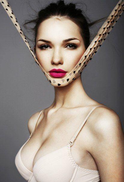 make up beauty pink woman model
