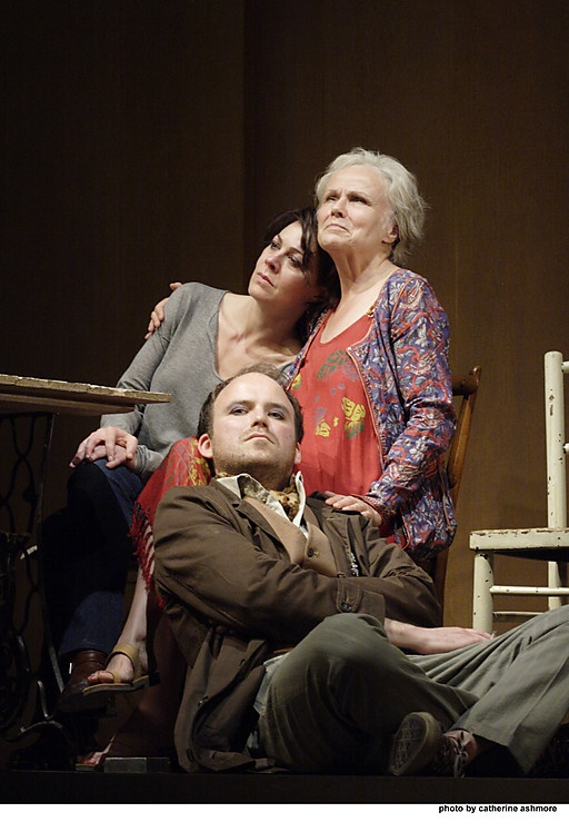 Last of the Haussmans, National Theatre, London, starring Julie Walters, Helen McCory, and Rory Kinnear.