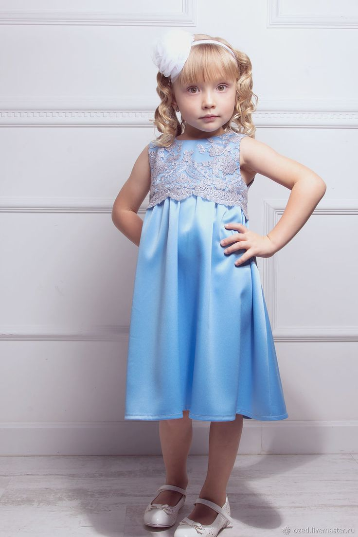 "Blue dress ""Little fairy"" – shop online on Livemaster with shipping"