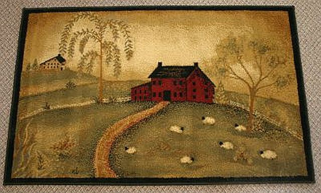 1000 Images About Primitive Rugs On Pinterest Red Rugs