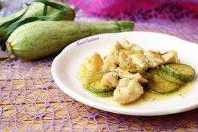 Petto di pollo con zucchine - piatto leggero - GustoFantasia