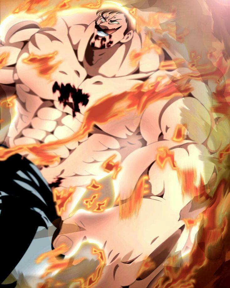 Escanor die! | Escanor seven deadly sins, Seven deadly ...