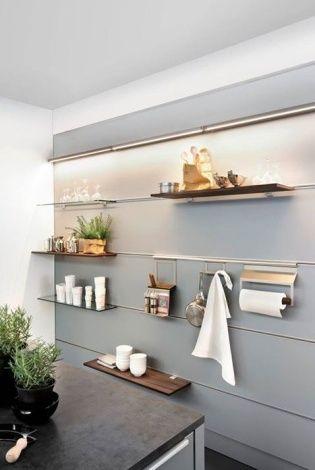 Panel z relingami, Nolte Küchen