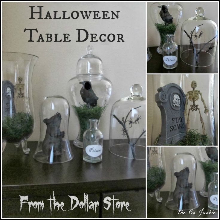 Dollar Store Halloween Decor: Tablescape
