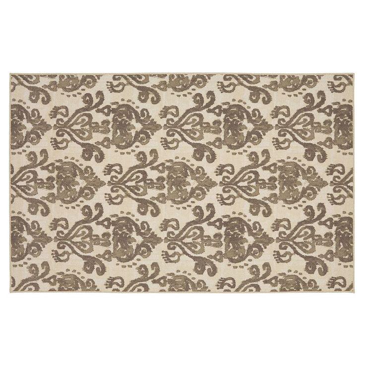 Mohawk® Home Bali Damask Rug, Grey (Charcoal)
