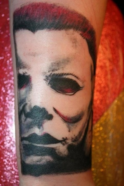 Michael myers tattoo tattoos pinterest for Michael myers tattoo