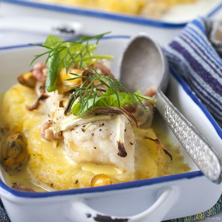 Wie denkt dat een ovenschotel enkel smaakt in de winter heeft het verkeerd voor. Deze variant met vis, venkel & saffraan is perfect voor een koude zomerdag.