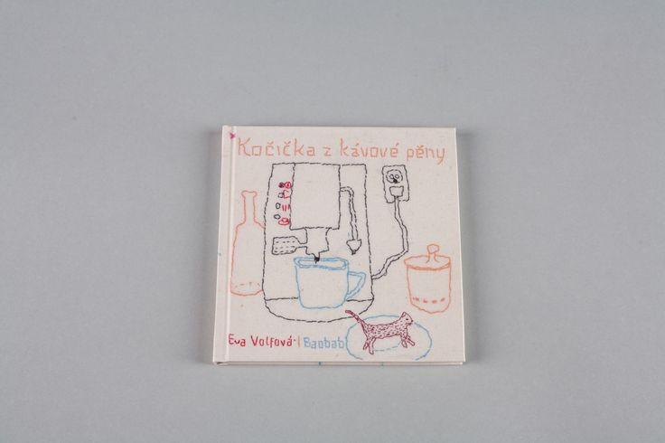Kočička z kávové pěny | české ilustrované knihy pro děti | Baobab Books