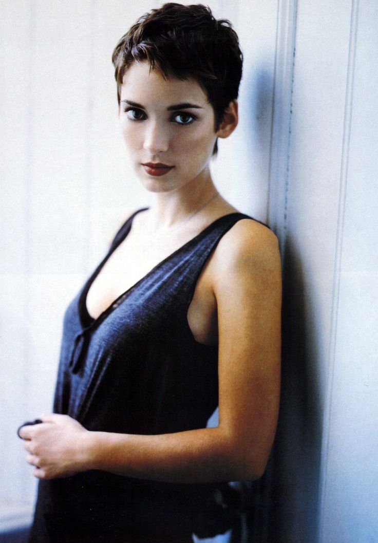 Winona Ryder  i totally let someone cut my hair like this for their short hair class; she aced it ;)
