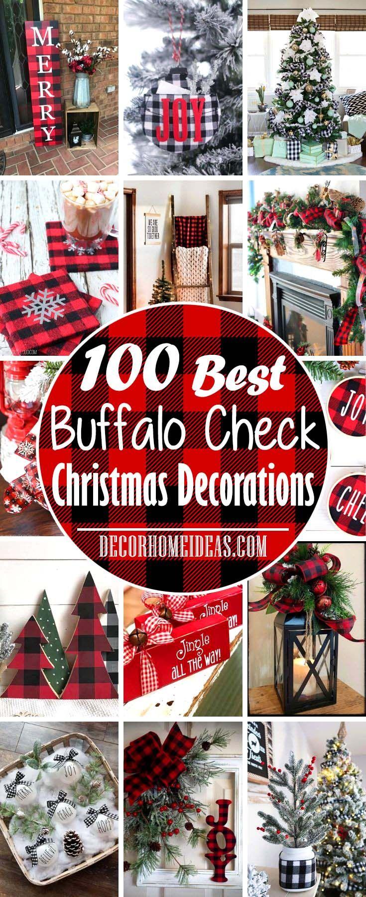 100 Best Diy Buffalo Check Christmas Decor Ideas Buffalo Check Christmas Decor Buffalo Plaid Christmas Decor Buffalo Check Christmas