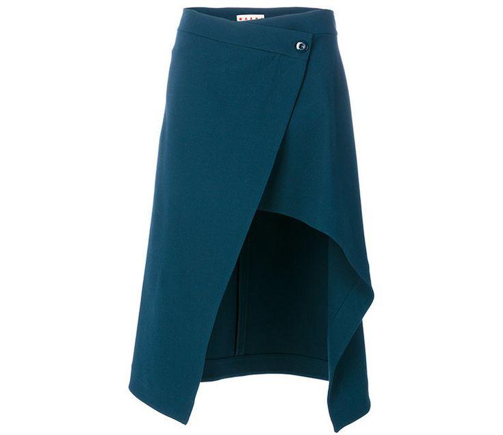 10 юбок с запахом, чтобы носить их с вещами в эстетике 1980-х, как на весенних подиумах | Журнал Harper's Bazaar
