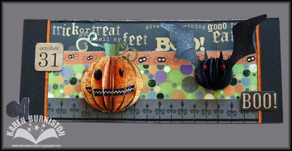 Sizzix Die Cutting Inspiration and Tips: Halloween Pop-up Card . . . open if you dare!