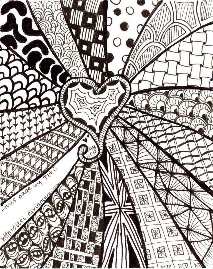 The 25 Best Ideas About Zentangle Patterns For Beginners On Pinterest