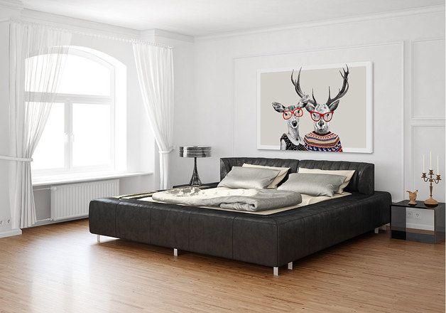 OBRAZ NA PŁÓTNIE + LOVE + 02-48+ 100x70 cm - LUdesign-gallery - Ozdoby na ścianę