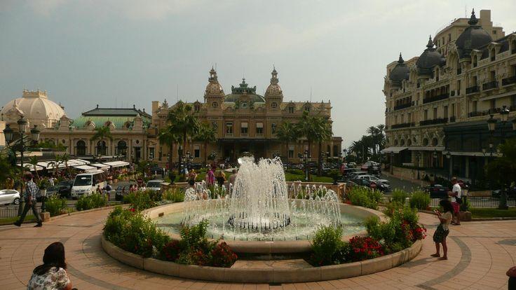 **Casino Square (beautiful square with luxury cars) - Monte-Carlo, Monaco