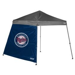 No rain, hail or snow will shut down your tailgate! The Coleman MLB 8'x8' tailgating shelter wall offers ample protection from the elements in team style. It's designed with your team's graphics and fits 8'x8'  slant wall shelters. Shelter is not included. - A quality product from the licenced US sports goods, US sports wear and US sports merchanise range at Distinct Sports Goods