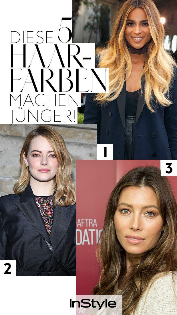 5 Haarfarben Die Dich 10 Jahre Jünger Aussehen Lassen Tolle