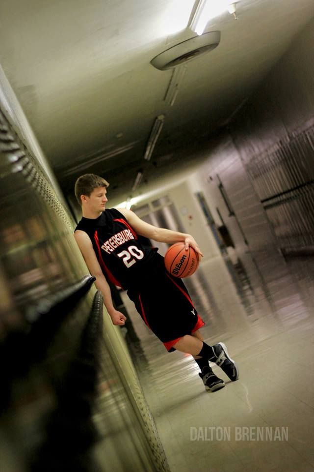 @Dalton Brennan photography. senior basketball picture