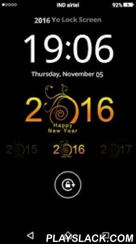 2016 Yo Locker  Android App - playslack.com ,  2016 Yo Locker is a cool screen locker, You can use it as My Name Screen Lock. It means you can write your own name over the lock screen