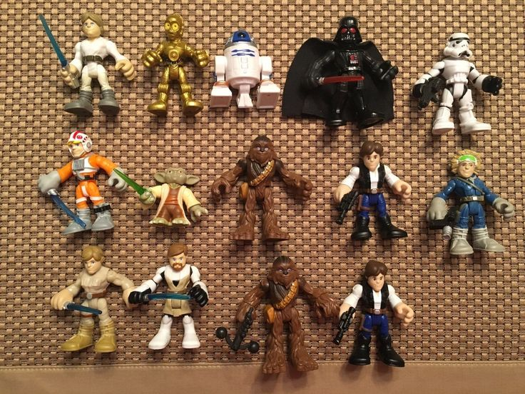 Hasbro Playskool Galactic Heroes Star Wars Lot  Vehicles & Figures
