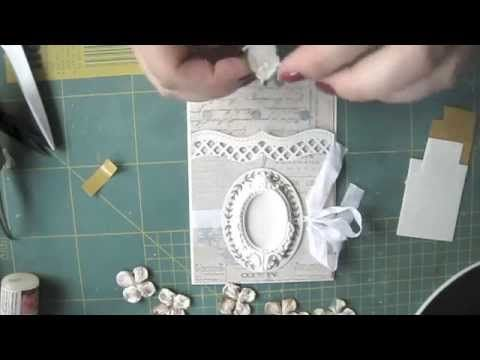Blomsterbox card tutorial