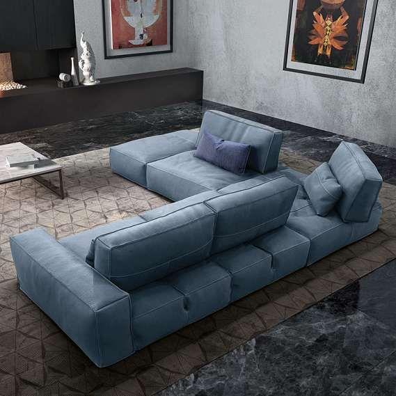 The soho sectional sofa by gamma arredamenti represents for Dama arredamenti