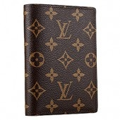 What would be a big hit for you, is a LV passport holder to complete your luxury look at the airport.