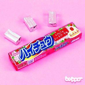 Hi-Chew candy (strawberry shortcake)
