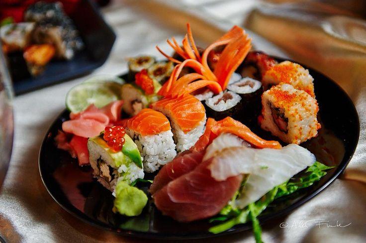 Saiko mix of delicious sushi. Yummy! #pytloun #sushi #restaurant