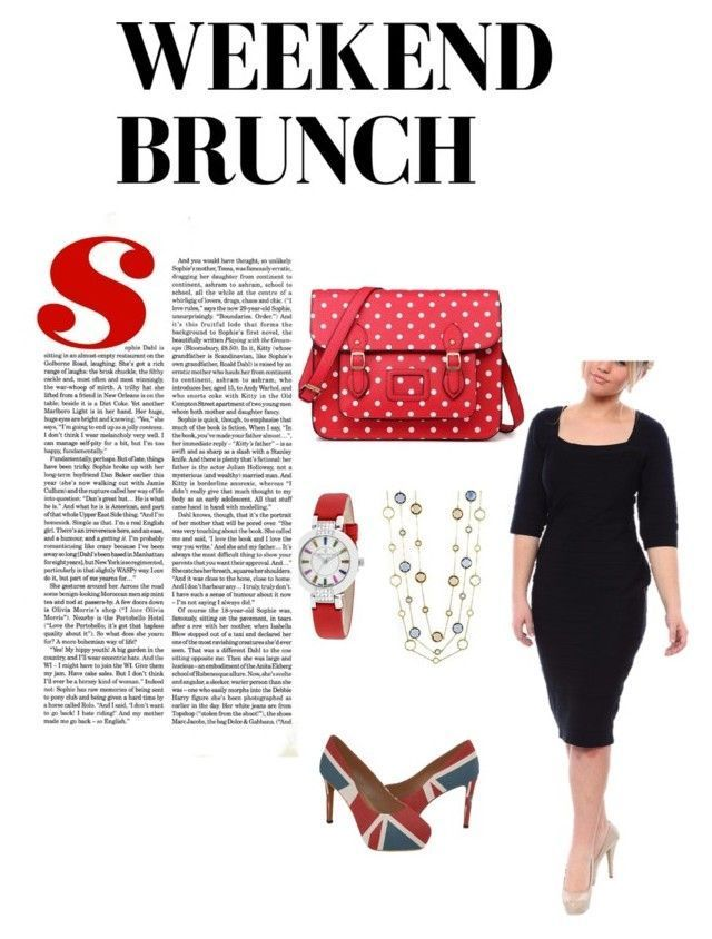 Red, Black, Union Jack Weekend Brunch by polkadottedallthethings on Polyvore