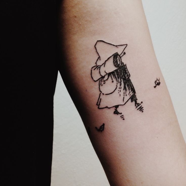moomin muumin snufkin tattoo                                                                                                                                                                                 More