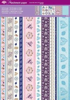 New Pergamano September 2014 | Patterned Parchment Paper - This is the Season- Craft Supplies