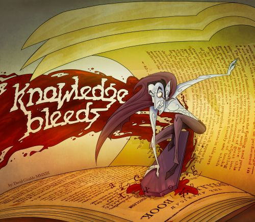 KNOWLEDGE BLEEDS