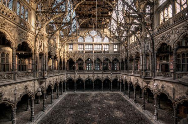 Hidden Treasures: The Spectacular Abandoned Stock Exchange Building in Antwerp