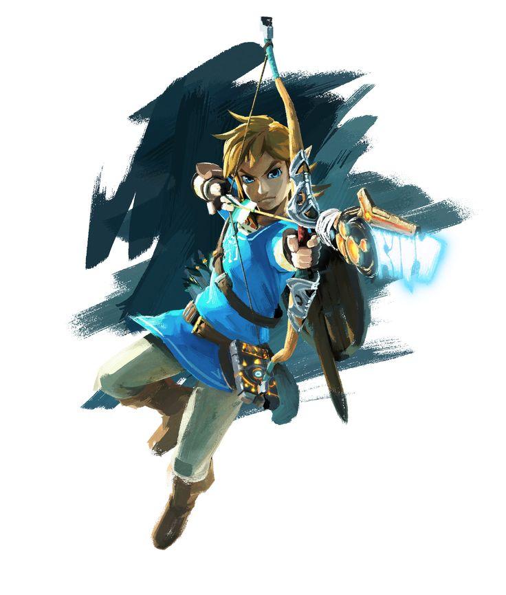 The Legend of Zelda : Breath of the Wild - Official art - Zelda Wii U / NX | #ZeldaBotW #ZeldaBreathoftheWild #2017